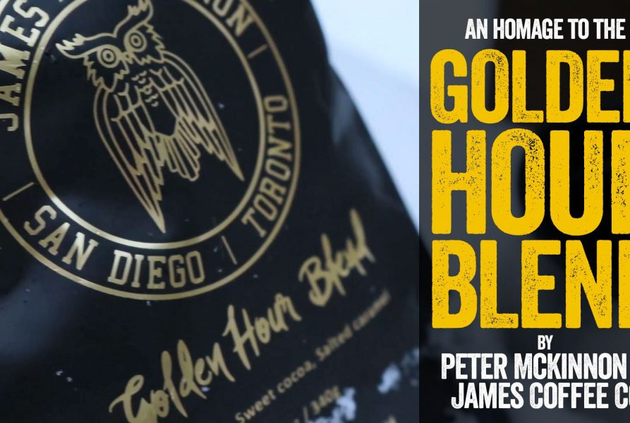 Peter McKinnons Golden Hour Blend Coffee from James Coffee Co