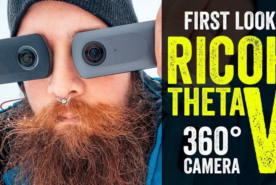 Ricoh Theta V 360 camera – First Look and Theta S compare!.