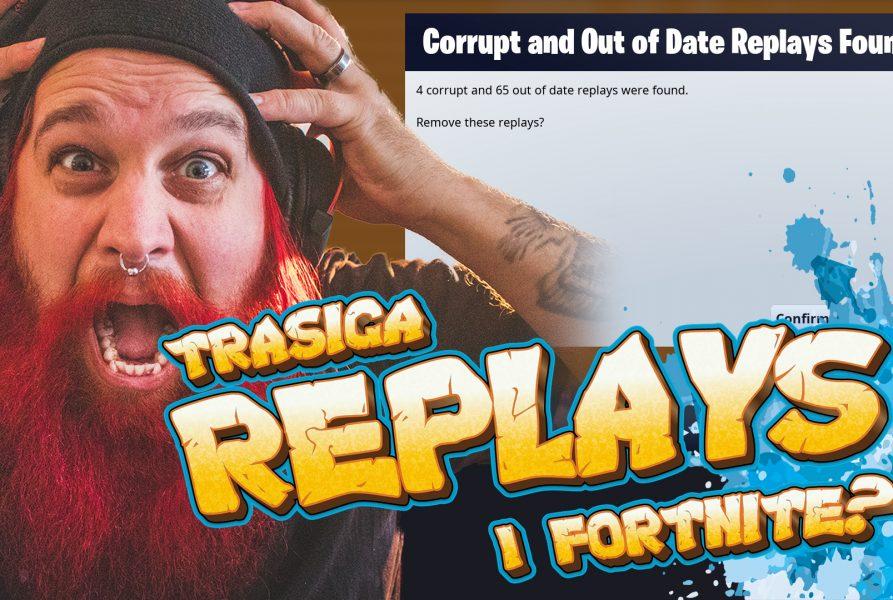 TRASIGA REPLAYS i Fortnite? Fortnite Corrupted Replay FIX!
