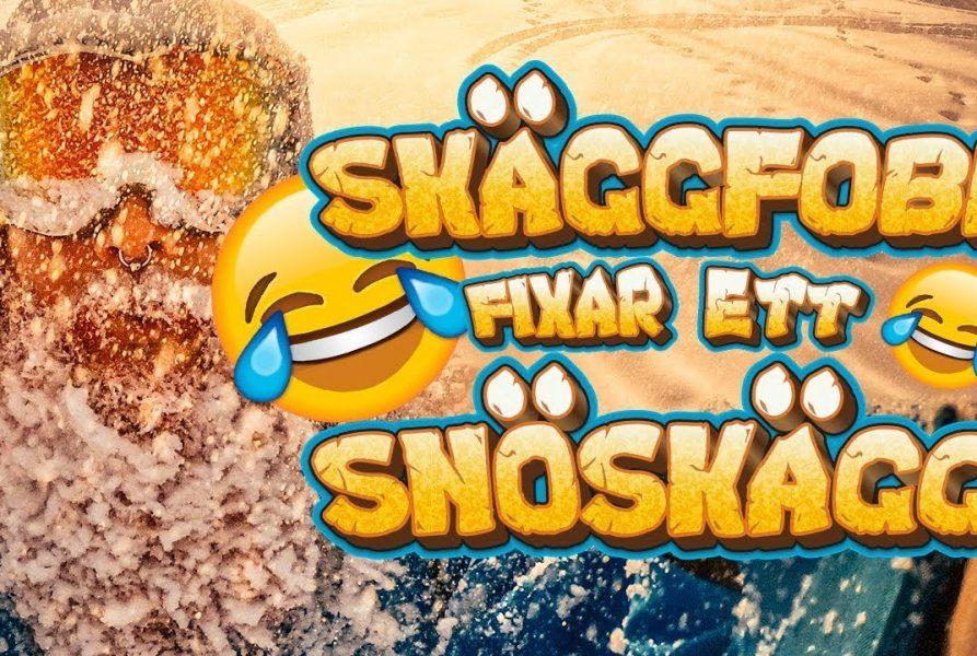 SNÖSKÄGG Challenge med en SNÖKANON!!!