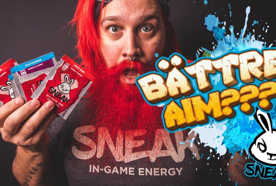 SNEAK In-game Energy test – Bättre aim?