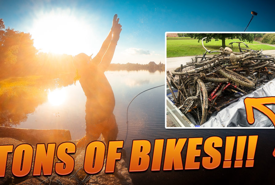 RECYCLING all our MAGNET FISHING Finds Cleaning rivers & lakes | Trash magnet