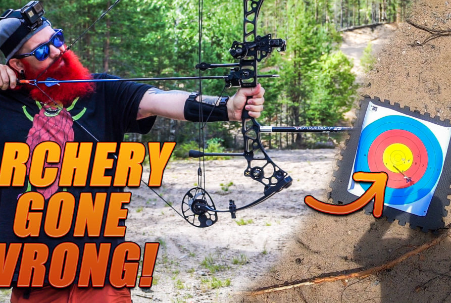 First time trying ARCHERY | Mathews Halon X Compound Hunting Bow